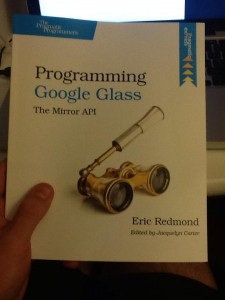 Programming Google Glass, book